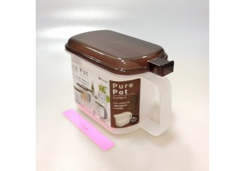Plastic seasoning box, brown (*separately sell the attached case)