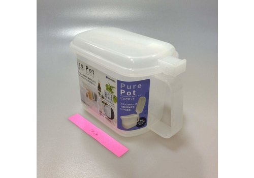 Plastic seasoning box, white (*separately sell the attached case)