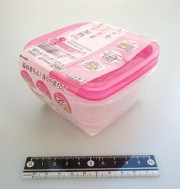 Pika Pika Japan Easy food container square 270ml 2p