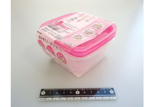 Easy food container square 270ml 2p