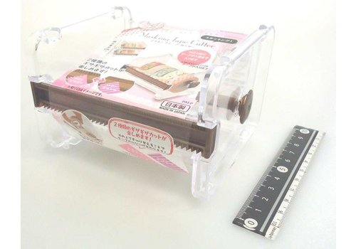 Making tape cutter stacking