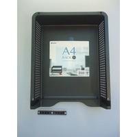 A4 desk rack black