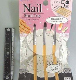 Pika Pika Japan Nail brush tray