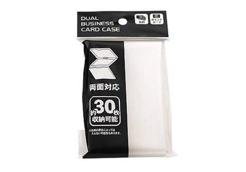 Dual business card case