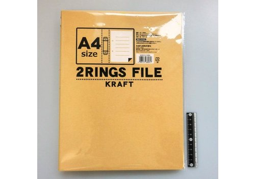 A4 craft ring file