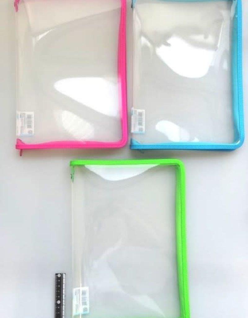 Pika Pika Japan A4 fastener case color