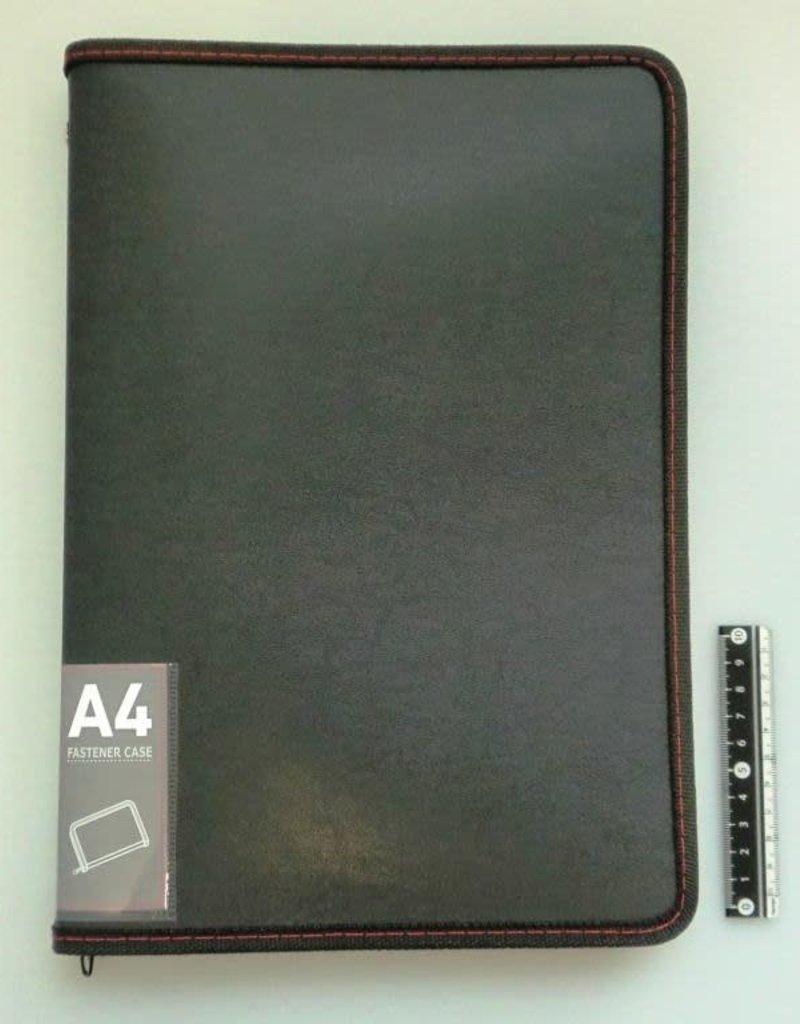 Pika Pika Japan A4 fastener case leather type