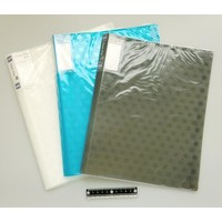 A4 clear file 32p dot