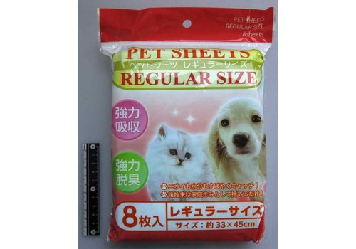 Pet sheet regular 8p