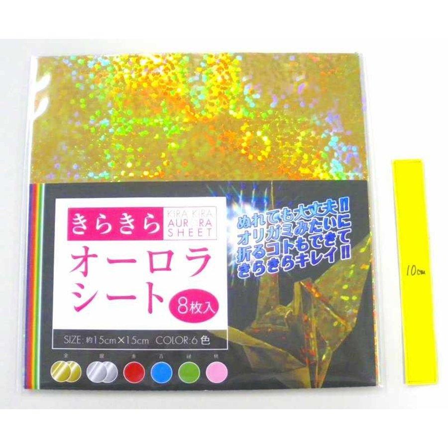 Glitter aurora sheet 8s-1