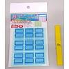 Pika Pika Japan Index sticker, medium, 10colors
