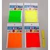 Pika Pika Japan Fluorescent sheet 80 x 110mm 1p