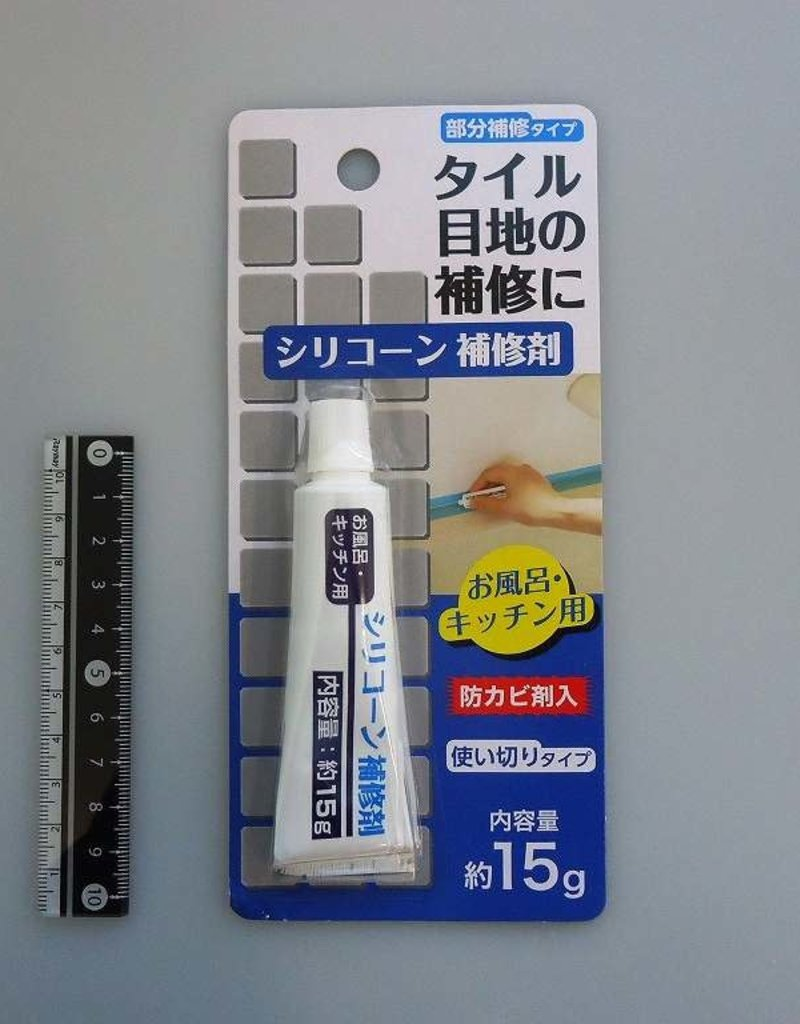 Pika Pika Japan Adhesive silicon for bathroom kitchen 20g