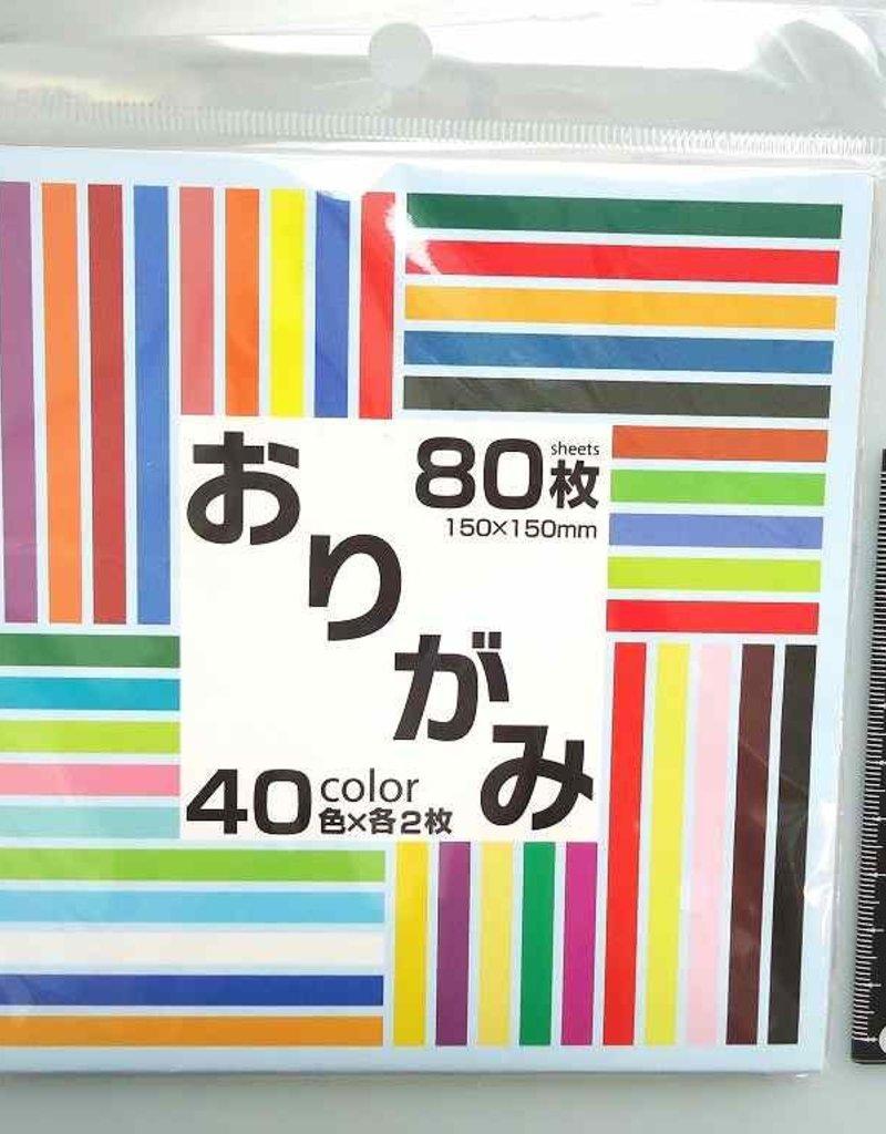 Pika Pika Japan 40colors origami paper 80p