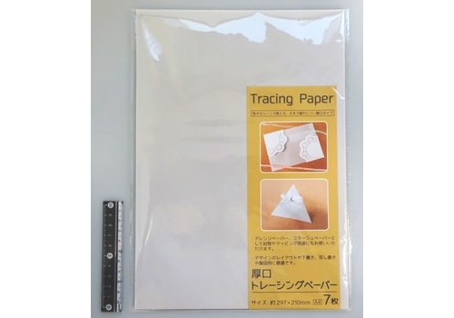 Thick tracing paper A4 7s