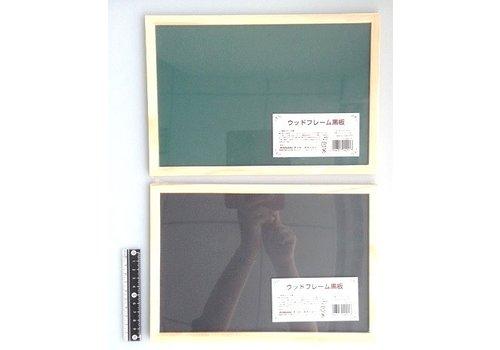 Wooden frame black board