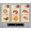 Die cut film memo label food 20s