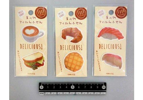 Die cut film memo label food 20s