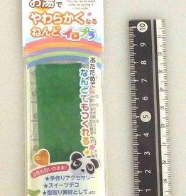 Pika Pika Japan Iro-pla, Colorful plastic cray green