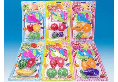 Plastic Fruit with velcro