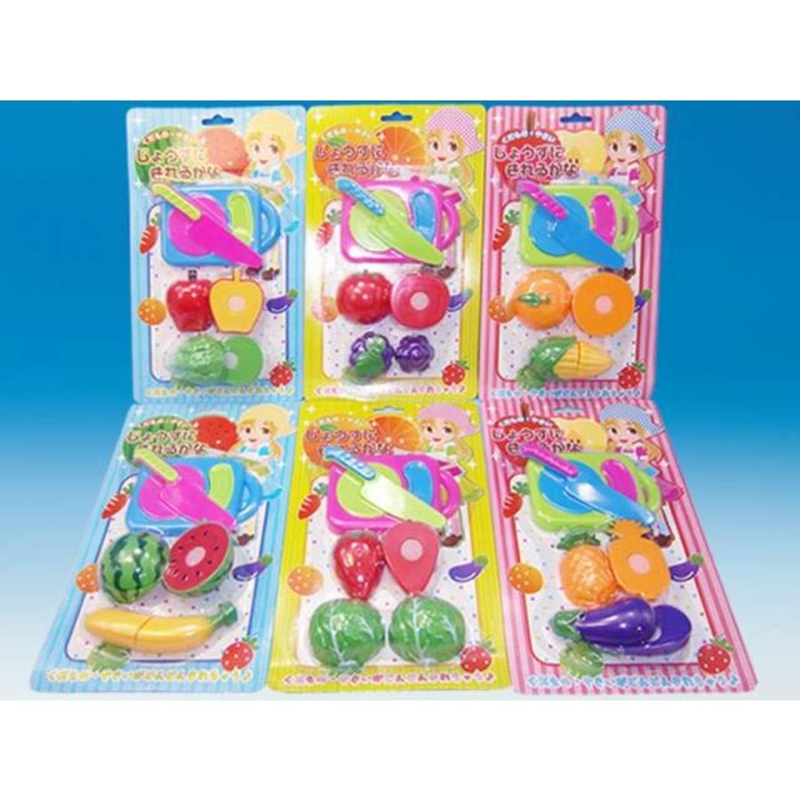 Plastic Fruit Set with Magic Tape-1