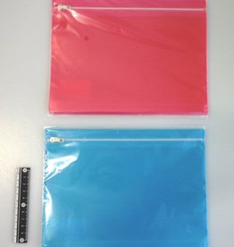 Pika Pika Japan Color slider fastener bag A5 2p