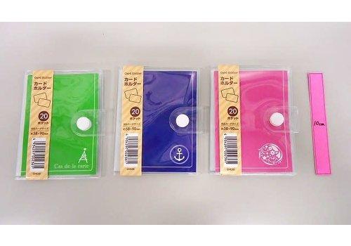 Card holder color 20p