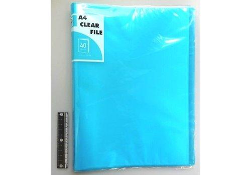 A4 clear file 40p CBL