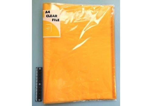 A4 clear file 40p COR