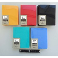 Card holder with black pockets 80p
