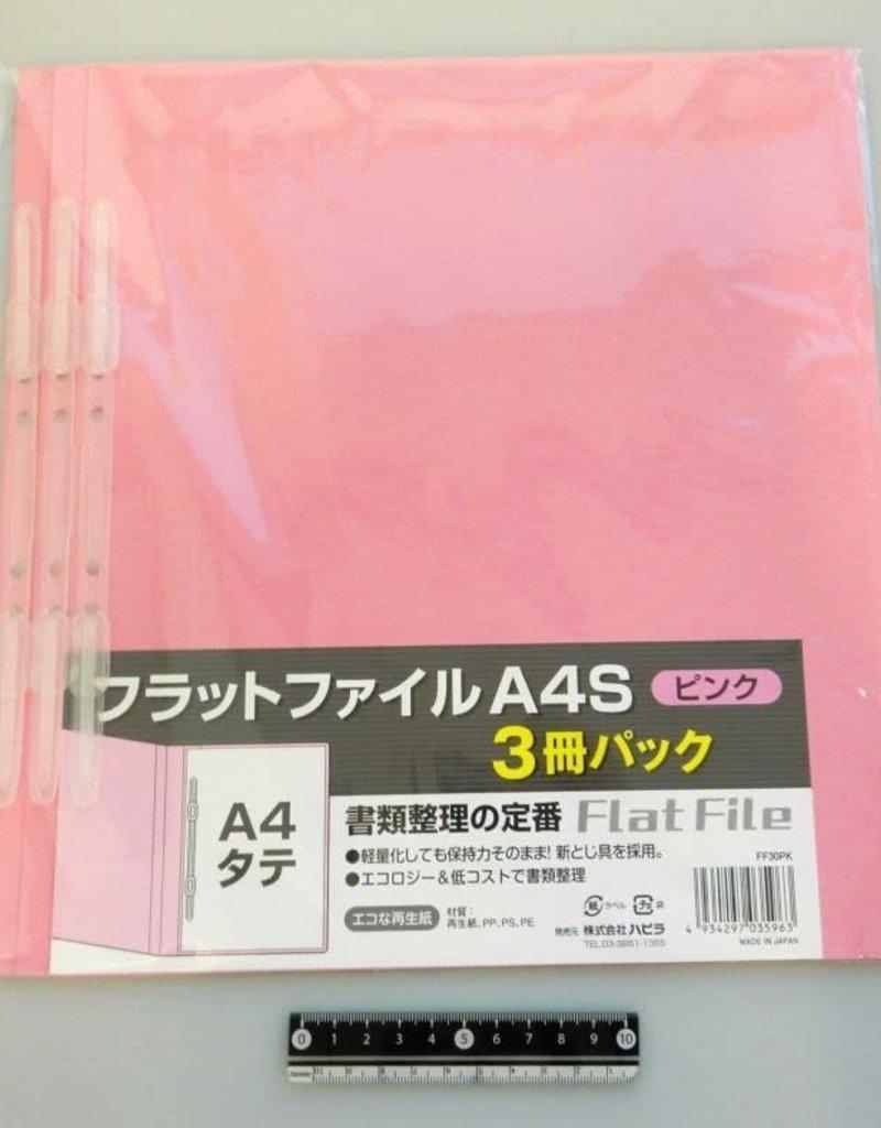 Pika Pika Japan A4 flat file vertical pink 3p