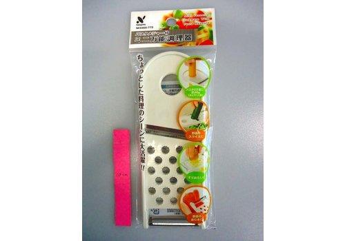 Mini multiple slicer with pasta measure