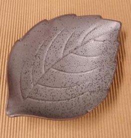 Pika Pika Japan leaf plate Tenmoku