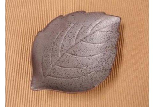 leaf plate Tenmoku