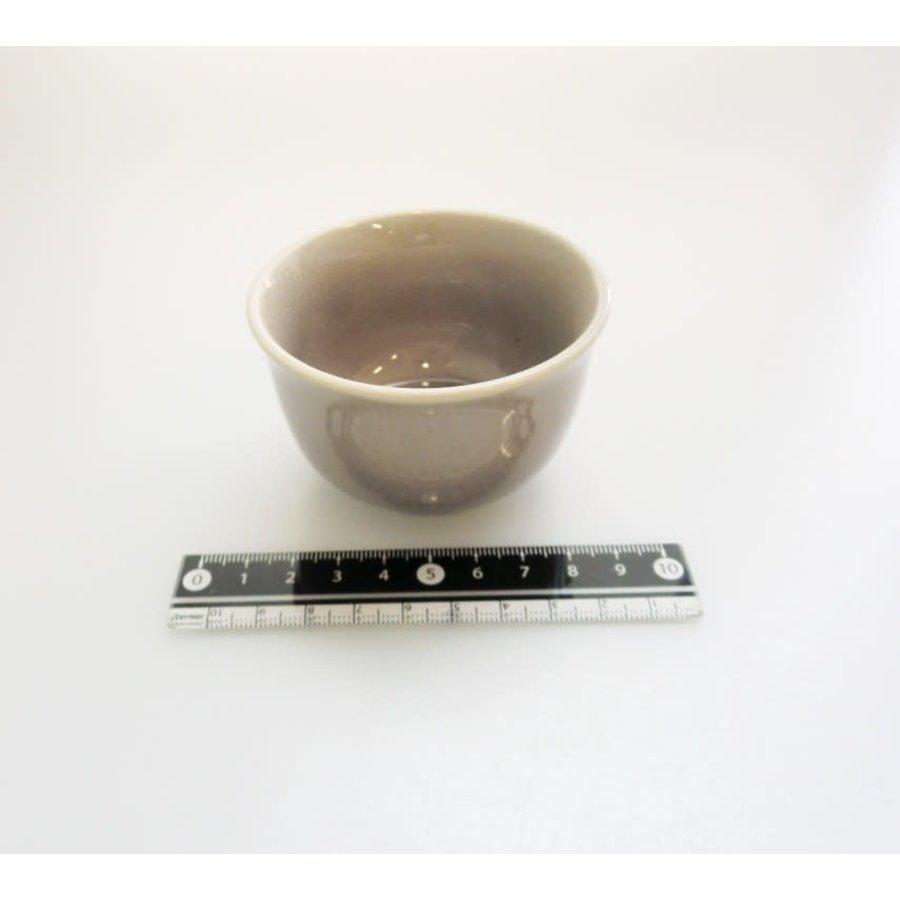 Klein kommetje, craquelé, grijs paars-1