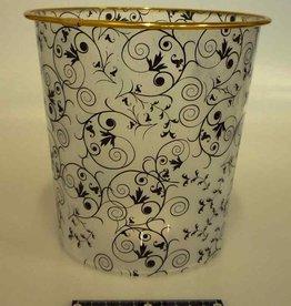 Pika Pika Japan Arabesque pattern dust box with trim L