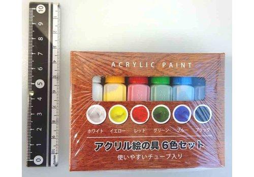 Acrylic paint 6colors set