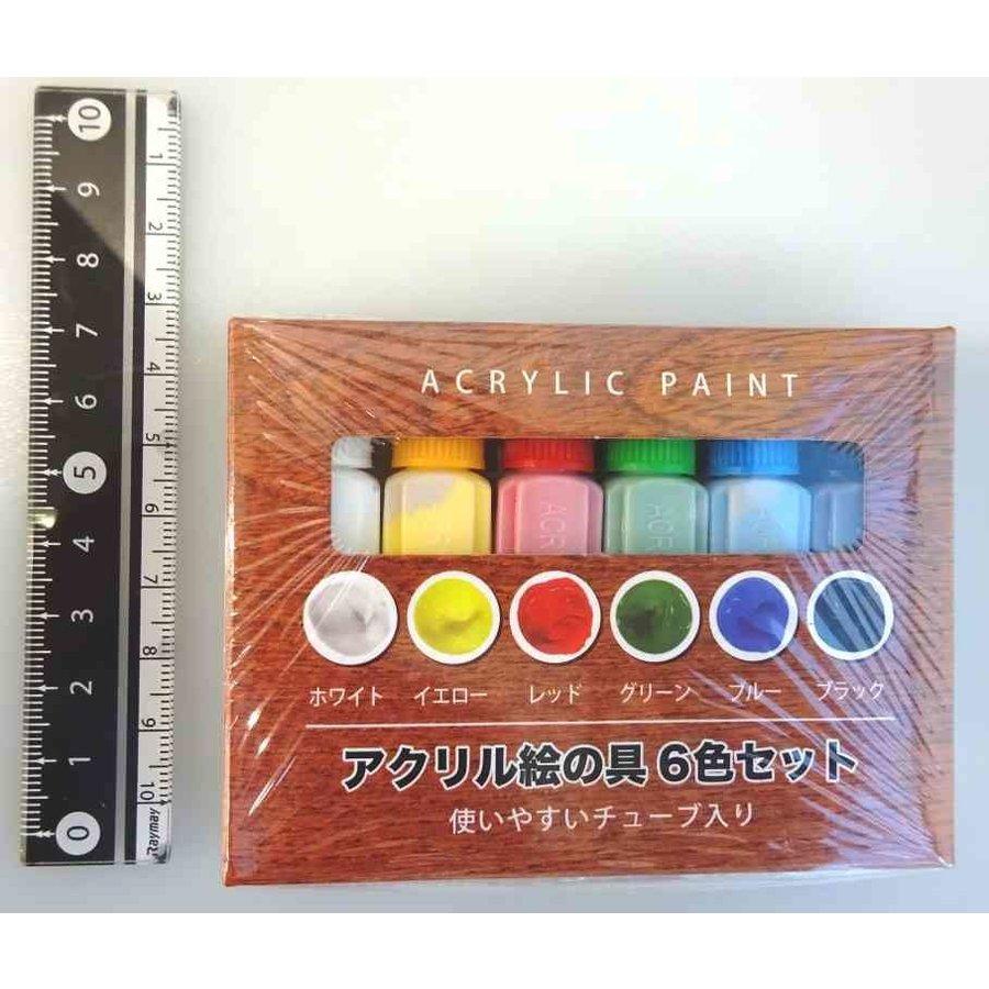 Acrylic paint 6colors set-1