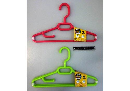 Turning hanger for kids 2p