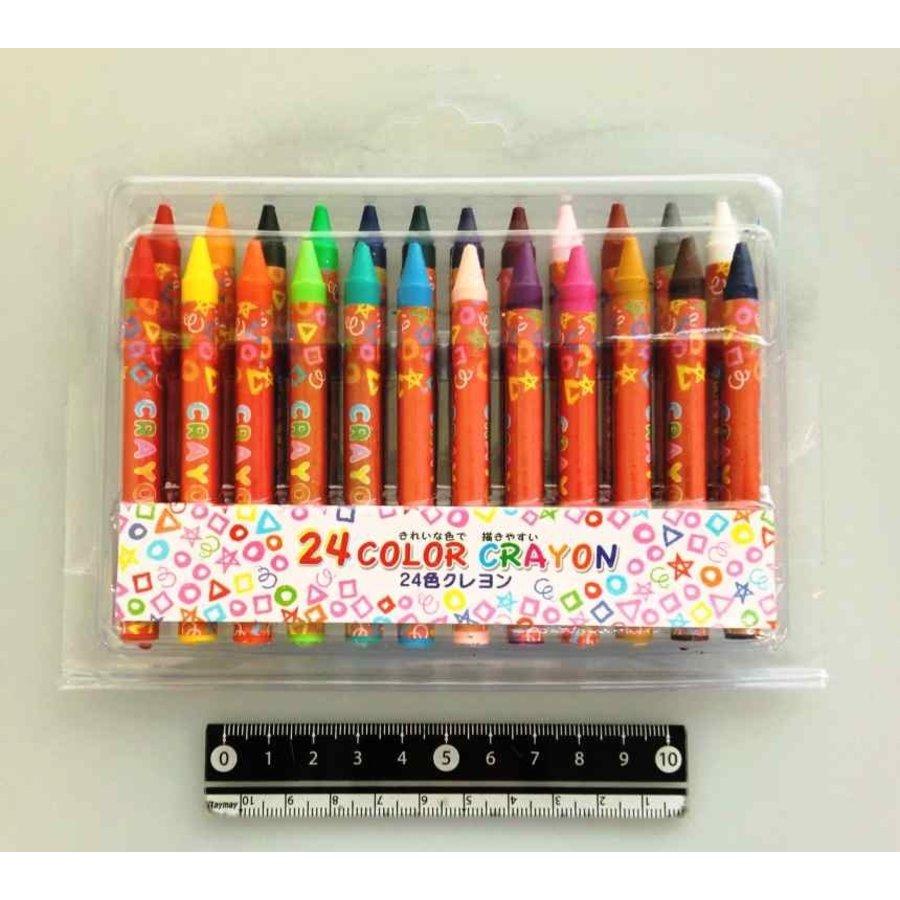24 color crayons-1