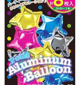 Pika Pika Japan Petit aluminum balloon star 8p