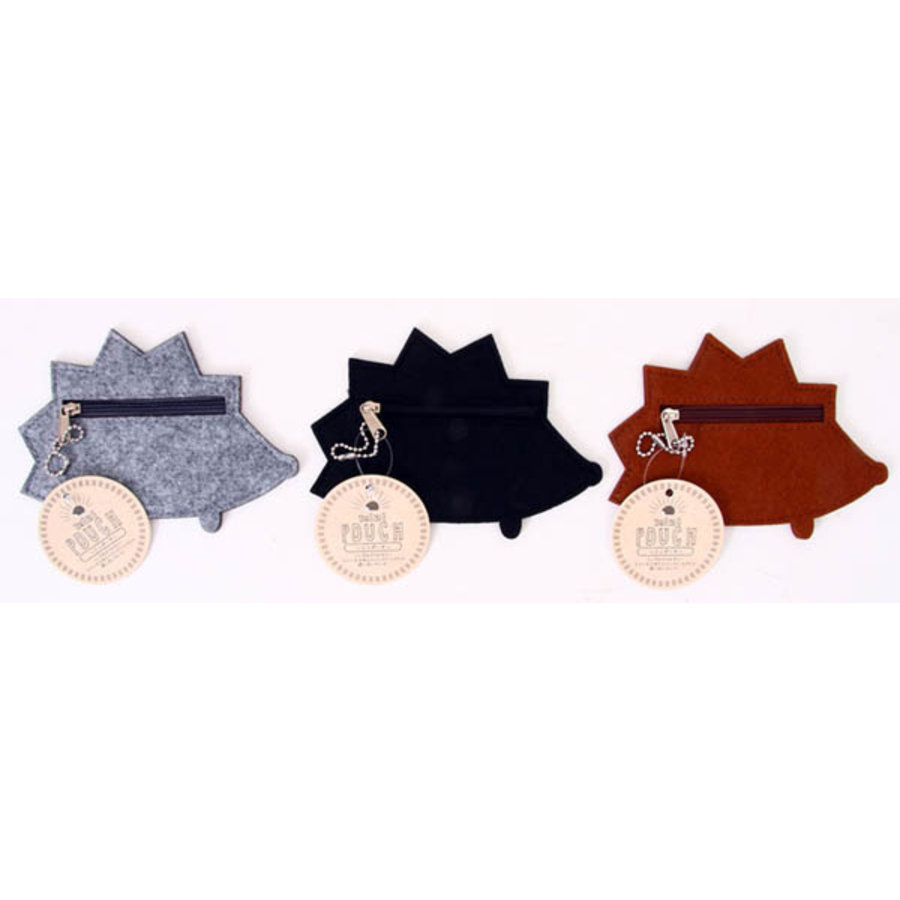 Felt hedgehog coin case-1