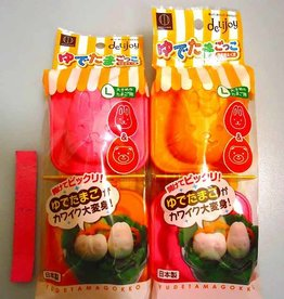 Pika Pika Japan delijoy boiled egg mold rabbit&bear