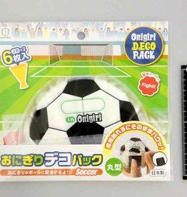 Pika Pika Japan Rice ball decoration pack round type soccer