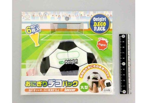 Rice ball wrapping sheet, football