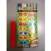 Pika Pika Japan Food pick sticker, animal