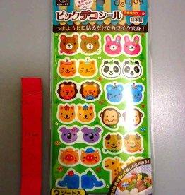 Pika Pika Japan delijoy picks decoration seal animal