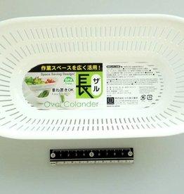 Pika Pika Japan Long colander white