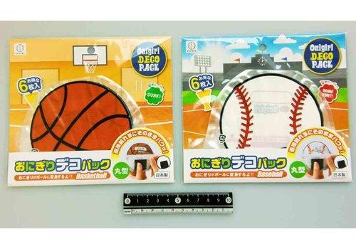 Rice ball decoration pack round ball