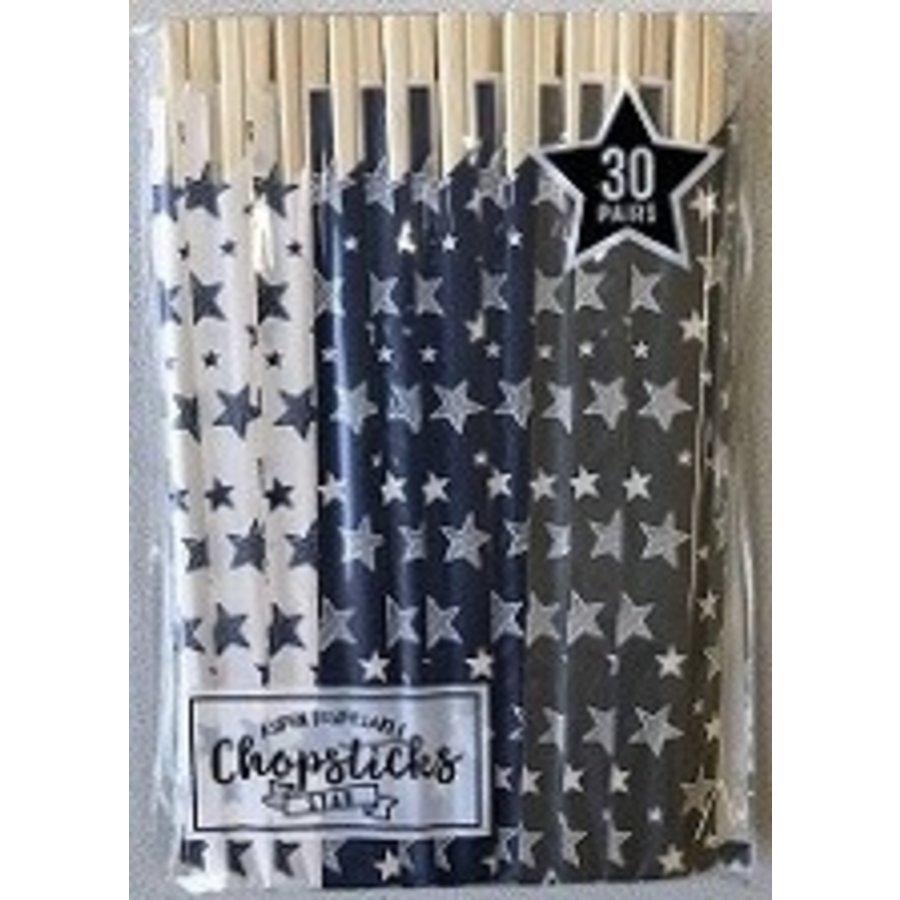 ?Aspen Genroku chopsticks 30p star-1